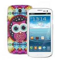 ScolourScolour Owl Magic Stone Night Star Case Cover For Samsung Galaxy S 3 SIII i9300 FreeshippingFreeshipping