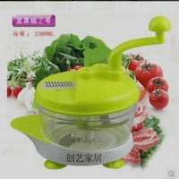 Multifunctional shredder household manual hand-cranked chopper broken pulverizer cooking machine vegetable stuffing