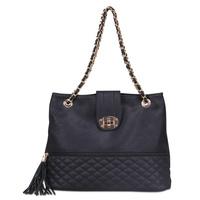 Hot new women PU leather bags designer handbag vintage fashion messenger bag leather tassel chain bags free shipping