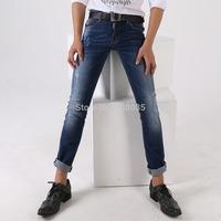 Free shipping 2014 New hole Men fashion jeans high quality brand Dsq skinny jeans for men designer D2 slim jeans for men 1403