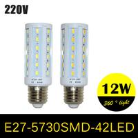 E27 220V Led Corn Light 5630SMD E27 LED Lamp 7w LED Corn Lights led bulb 42SMD