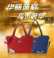 2014 women's genuine leather handbag fashion women's handbag big bag one shoulder handbag cross-body women's bags