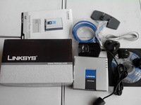 the unlock linksys pap2t  pap2 with 2fxs support sip fax with shipping cost can be use in any sip