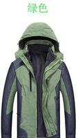 L-4XL Plus size 2015 New Men outdoor Autumn winter outfit cotton-padded jacket  men ski-wear cotton-padded jacket men's jacket