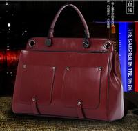 Female bag 2014 autumn winters European and American fashion lady bags One shoulder handbag