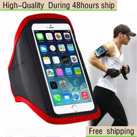 """Adjustable Gym Jogging Running skin Armband Case For iPhone 6 Plus 5.5"""" Free Shipping"""