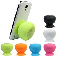Free shipping Mini Waterproof Wireless Bluetooth Handsfree Mic Suction Speaker Shower Car mic