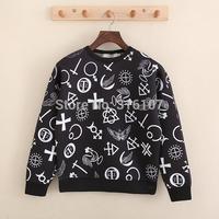 2014 winter women hoodies KTZ lon don bay print fashion sweater men bandana sweatshirts hip hop high quality hoody sportswear