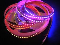 WS2811 LED  pixel strip addressable digital rgb strip led.dream color 144leds per meter  white pcb 2meters per roll dc5v ip20