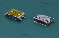 (20pcs/lot) 11*7.5mm MINI DHMI Connectors, 4 Fixed feet DIP, Commonly used in tablet PCs