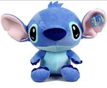 Hot Sale 30CM High Quality Cute Cartoon Lilo and Stitch Stuffed Soft Plush Toys  Lovely Toys PT013(China (Mainland))