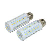 50pcs/lot new arrival E14 SMD 5730 7W LED corn light bulb lamp, 220V 42 LEDs E14 5730SMD Warm white /white