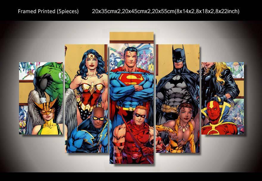 Shop Popular Dc Comics Art From China Aliexpress