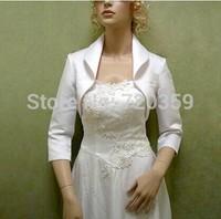 Free shipping! Very beautiful white long Sleeves Bridal Jacket / Wedding Wrap / Bolero Jacket,Wedding Accessory