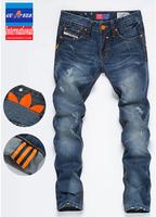 2014 Mens Jeans,Famous Brand Fashion Designer Denim Jeans Men,Large Size 28-38,Hot Sale Jeans Brand Pants,8803,Free Shipping