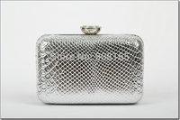 free shipping women's clutch bags fashion pu snake striped women purse M7568