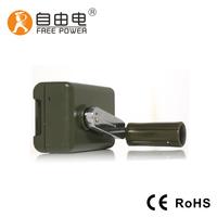 Hand crank magnetic generator 28V
