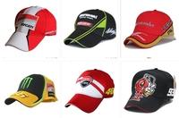 Wholesale 12 pcs/lot 6style free choose Blade Lightning MEN embroider motorcycle hat  racing cap sports baseball cap