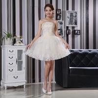 2014 short prom dresses white lovely off shoulder design fashion dress
