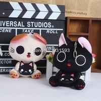 Lovely Cat Dolls The Gothic World of Nyanpire Soft Stuffed Animal Dolls Plush Toys Free Shipping