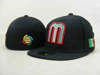 MEXICO BASEBALL CAP Embroidered  Team logo MLB Fitted hat