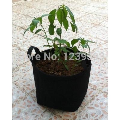 7 galão hotel jardim novidade cilíndrico vertical jardim potes potes vida- parede da sala crescer saco poliéster vasos de plantação de plantas(China (Mainland))