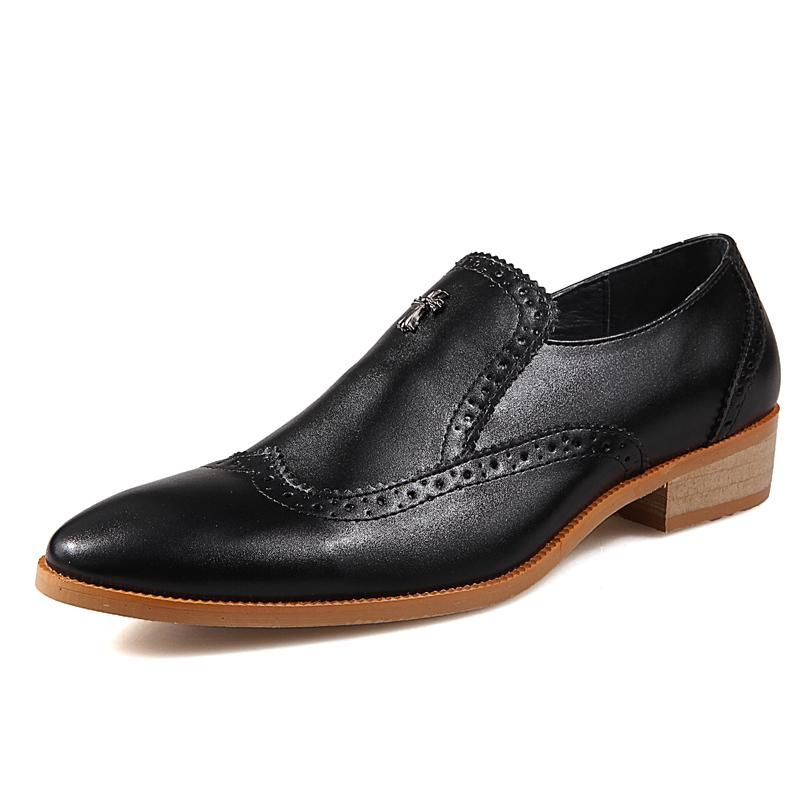 Men Oxfords Shoes Dress