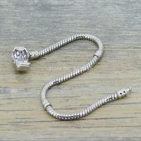 PH100-2 Aliexpress promotion sterling silver jewelry Charm bracelet 925 silver crystal silver  bangle bracelet for woman