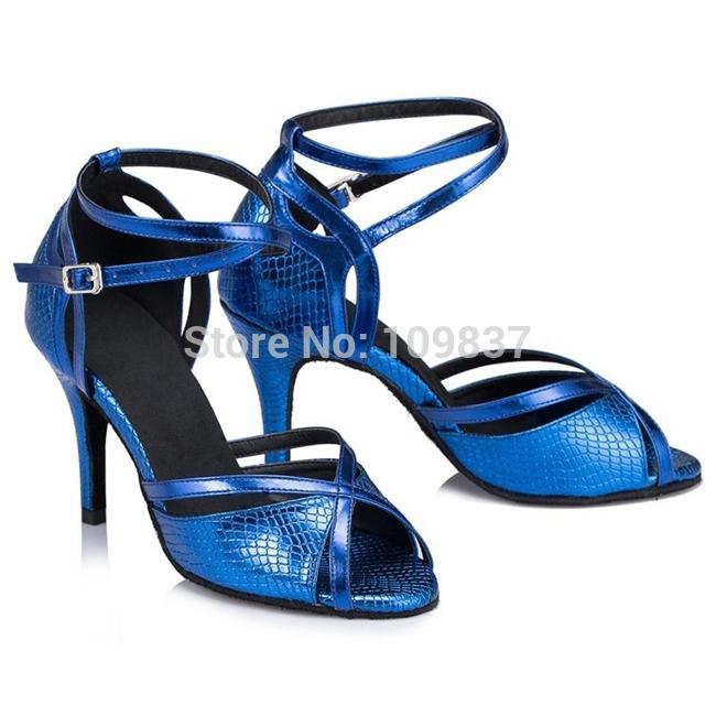High heel ballroom shoes