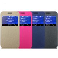View Windows Matte Leather Cover Case For Samsung Galaxy Core 2 G355H Suzie