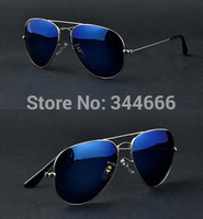 Full Blue Mirrored Aviator Sunglasses Women,Sunglasses Men Dark Tint Lens Gold Frame UV400 BNWT free shipping
