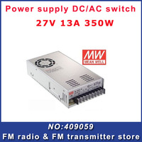 Free shipping power supply Mean Well MW 27V 13A 350W AC/DC Switching S-350-27 UL Original Brand New