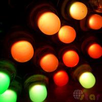 50pcs 12mm RGB WS2811 LED Pixel Individual Addressable Christmas Tree Logo IP68 Waterproof  DC5V