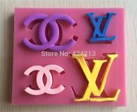 LOGO Design Silicone 3D Cake Mould Cookware Dining Bar Non-Stick Cake Decorating Fondant Soap Mold-P224