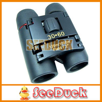 Portable Mini Pocket Telescope Binoculars 30x60 Red Membrane Night Vision Free Shipping  EG2171