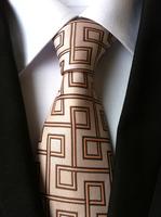 Tartan Design Jacquard Woven Type Ties/ Casual 960 Needles Polyester Ties