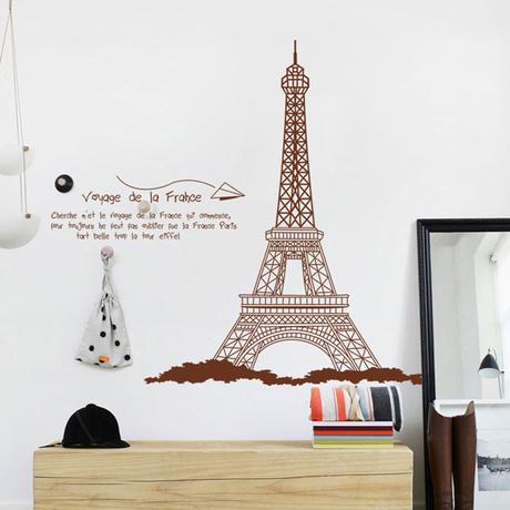 Café por atacado o removíveis adesivos de parede DIY Home decor adesivos sala de estar(China (Mainland))