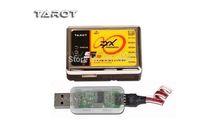 Tarot Flybarless 3 Axis Gyro ZYX-V2 +USB Align Trex 3GX VBAR 250 450 500 rc heli