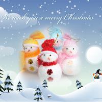 NI5L High Quality Christmas Holiday Seasonal Winter Pine Tree Door Decoration Hang Snowman Xmas