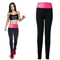 Yomsong Women Pants Soft Gym Leggings High Waist Fitness Leggings Fashion Yoga Casual Pants Stretchy Legging 3 Colors 2 Sizes