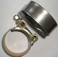 T-bolt steel clamp
