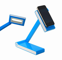 300 Degree Rotatable Wide Angle Lighting Touch Control Led Lamp, Foldable Led Lamp With Power Bank and Phone Holder Function.