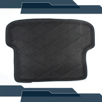 3D Black Truck Rear Tail Tray Boot Liner Protecter Cargo Mat Carpet All Weather Waterproof For Paladin 2005-2012