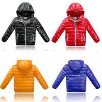 2014 New Arrival Fashion Children's Winter Down Jacket  Boys Girls 4 colors Coat Children's Outerwear