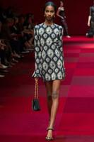 Free shipping 2014 Milan Fashion Week woman new fashion Autumn A line print long flare sleeve dress print casual big size dress