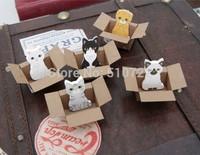 Free Shipping 20PCS/LOT Korea Stationery Cat Cartoon Style Cute Animal Sticky notes Memo Pad Promotion Gift