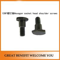 4 stroke 139F grass trimmer parts hexagon socket head shoulder screws