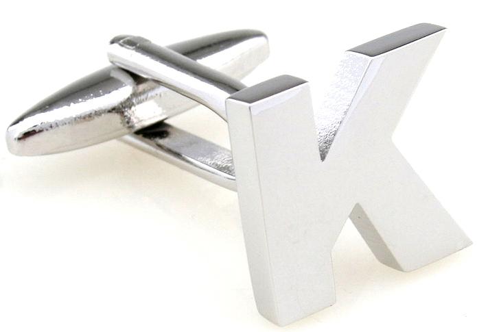 a letra k design abotoaduras casamento de jóia cufflink para homens para o presente do homem()