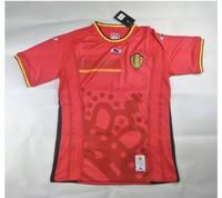 New Best quality Belgium 2014 World Cup home soccer jersey KOMPANY WITSEL DE BRUYNE FELLAINI HAZARD SHIRT Belgian footbal jersey