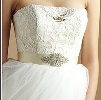 Vintage shinning wedding DIY accessories,Rhinestone Wedding Sash, bridesmaid ,Bridal Belt handmade Waistband BW02-1